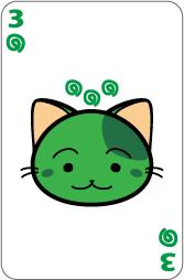 猫トランプ【楽3】