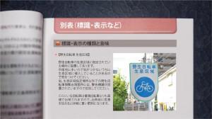 第Z水準 標識教本シリーズ 【野生自転車生息区域】